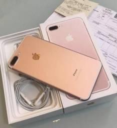 IPhone 7 Plus Rose 32GB, Nota fiscal, Garantia Apple 11 meses