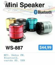 Caixinha de som Mini Speakert