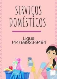 Serviços Domésticos diarista