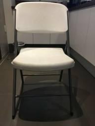 (Novo) Cadeira Lifetime Standard Modelo 2810 - Possuo 20 cadeiras