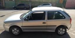 VW Gol G4 Prata - 2010/2011 - Simples - 2010