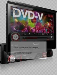 Dvd Pioneer 7,5 polegadas