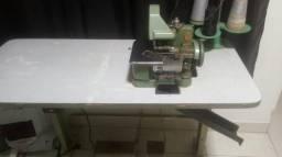 Máquina overlok semi-industrial