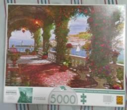 Quebra-cabeça Grow - Tarde na varanda - 5.000 peças
