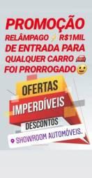 Recuse IMITAÇÕES!! R$1MIL DE ENTRADA SÓ NA SHOWROOM AUTOMÓVEIS!