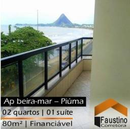 Lindo apartamento no Jardim Maily, 3° andar de frente pro mar!