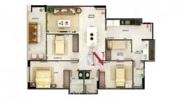 Apartamento c/ 3 quartos no Cabo Branco - João Pessoa/PB
