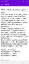 Kitnet em Porto de Galinhas (preço a combinar)