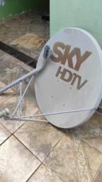 Vendo antena 90cm SKY