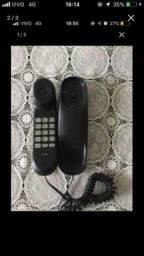 Telefone sem fio podendo ser usado como interfone