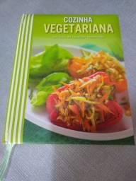 Livro Cozinha Vegetariana