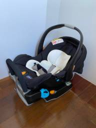 Bebê conforto com base Chicco