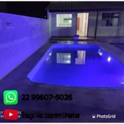 Casa de 03 quartos com piscina