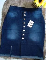"""Saias Jeans 1ª Qualidade - @christian_familythe """"Promoção"""""""