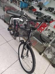 "Bike Caloi aro 20"" com marcha"