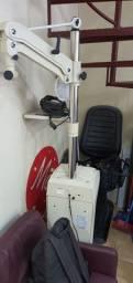 Coluna e cadeira oftalmica