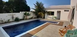 Magnifica mansão no melhor condomínio da região, 04 suítes, piscina, acabamento finíssimo