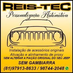 Alinhamento de Proxy Jeep Renegade