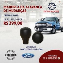 MANOPLA DA ALAVANCA DE MUDANÇAS ORIGINAL FORD F-250/F-350/F-4000