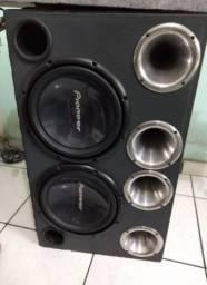 Caixa de som Pioneer excelente qualidade