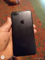Iphone 7 plus black mate v/t