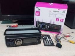 Rádio (som) automotivo Multilaser new one