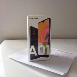 Samsung A01 32g preto lacrado na caixa