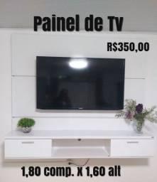 Painel de Tv Branco 1,80x1,60