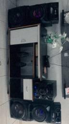 Som SONY residencial (MUITO POTENTE)