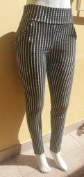Um lote com 10 calças novas ideal para revenda