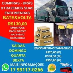 Bate e Volta Compras São Paulo