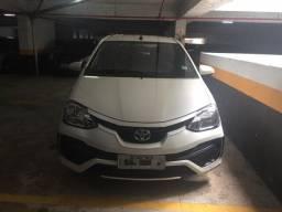 Toyota Etios X 16V 2018 1.3 completo