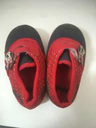 Sapato minnie