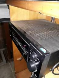 Receiver Pioneer VSX D511 grátis divisor para sistema de som  ac. cartões em até 12x