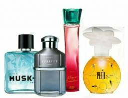 Kit AVON 4 itens 1Petit+ exclusive reserve100ML+mask+mulher e poesia