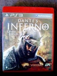 Dante's Inferno para ps3 comprar usado  Campo Grande