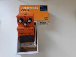 Pedal de Distorção Boss DS-1 modificado