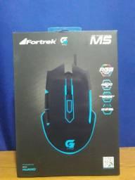 Mouse gamer M5 Fortrek RGB 4800DPI em Maracanaú