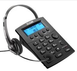 Head set - Telefone com fone de ouvido