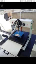 Prensa térmica 35x35 - compactaprint - máquina de estampar