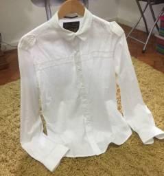 Camisa branca social colcci