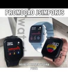 Relógio inteligente P8 Smartwatch GTS 44mm