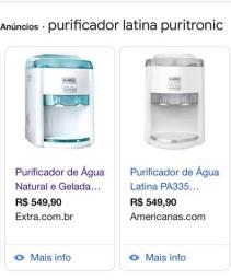 Purificador de água Latina