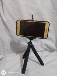 Mini tripé p/celulares GPS e etc igual foto novo na caixa aceito cartão