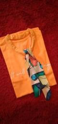T-shirt lenço