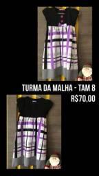 Vestido da Turma da Malha TAM 8