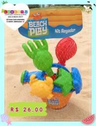Kit praia Regador Baldinho de praia