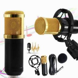 Microfone Condensador Bm800 Profissional