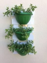 Painéis com plantas