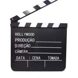 Claquete Português Para Estúdio De Cinema 30x28,5cm Grande novo lacrado